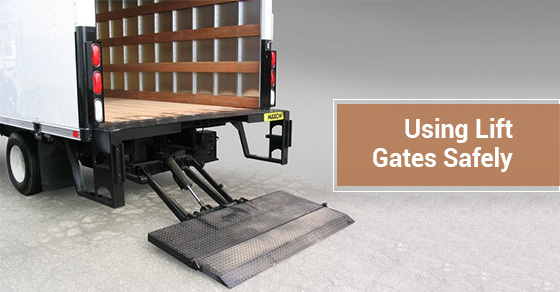 Using Lift Gates Safely