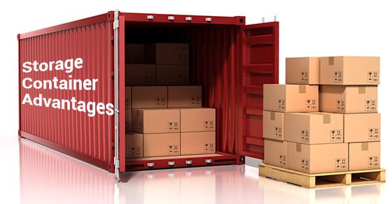 Storage Container Advantages