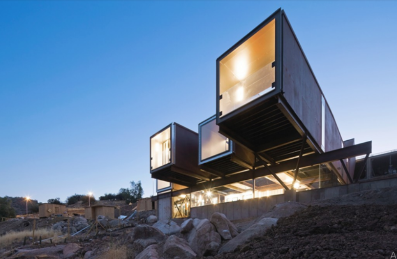 Shipping Container Home Fit For A Shipping Magnate
