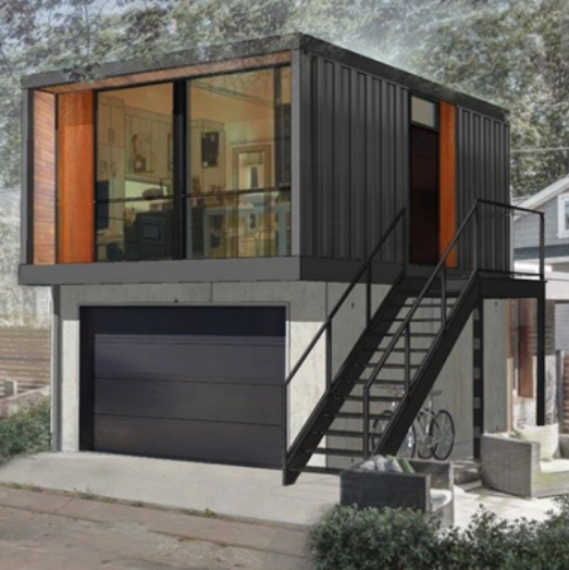 Shipping containers home designs secure container solutions for Home decorating edmonton