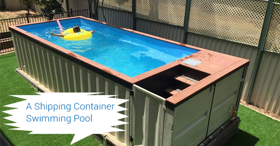 How to build a container swimming pool secure container for Pool design kelowna