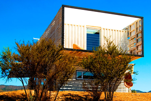 Sea Container House In Curacavi, Chile