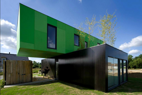 Crossbox House - Sea Container Homes