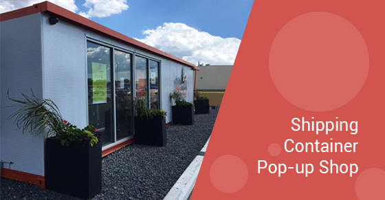 Shipping Container Pop-up Shop