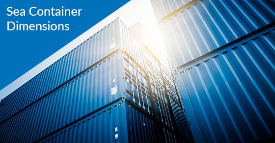 Sea Container Dimensions