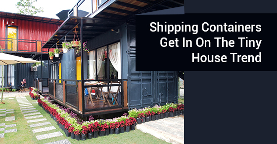Shipping Containers Get In On The Tiny House Trend