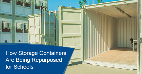 How storage containers are being repurposed for schools